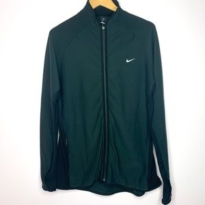 Nike Black Fitted Light Weight running Jacket XL